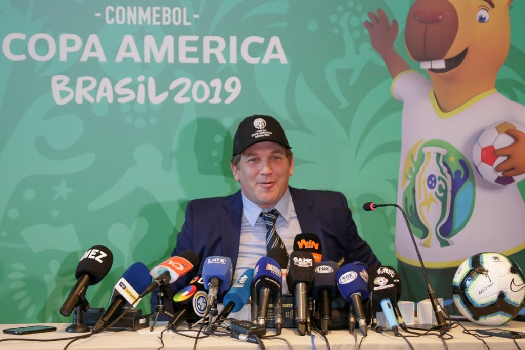 Copa América games in Brazil after 30 years
